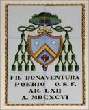 Ambito campano sec. XX, Dipinto con stemma di Mons. Bonaventura Poerio