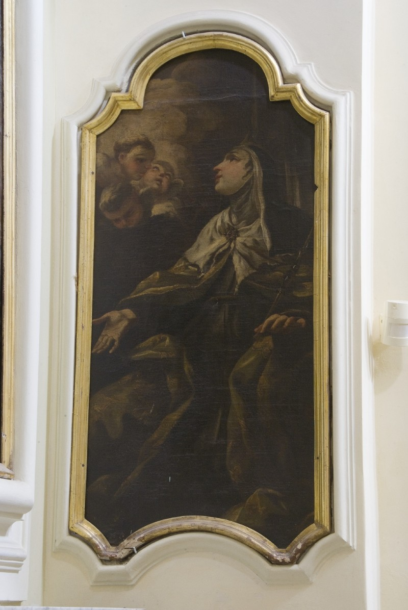 Ambito dell'Italia meridionale sec. XVIII, Dipinto di Sant'Agnese di Boemia