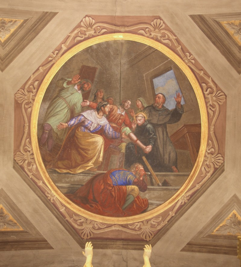 Brighenti G.-Fasciotti G. metà sec. XIX, Miracolo del piede risanato