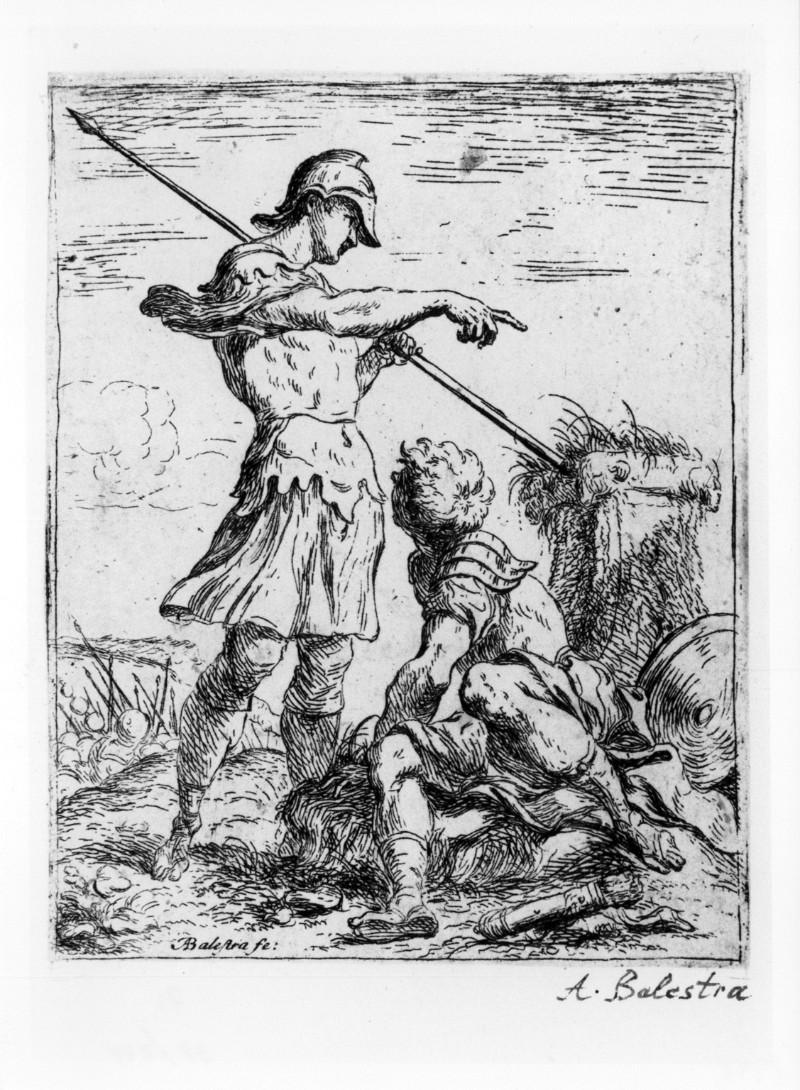 Balestra A. (1702 circa), Due guerrieri