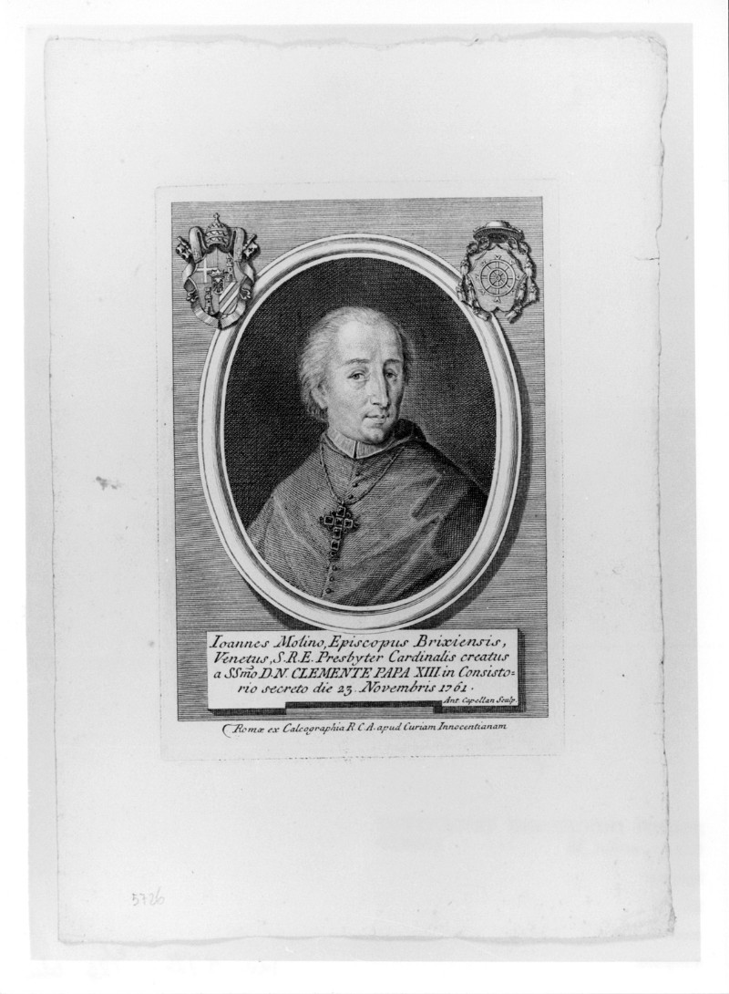 Cappellan A. (1761 circa), Ritratto di Giovanni Molin