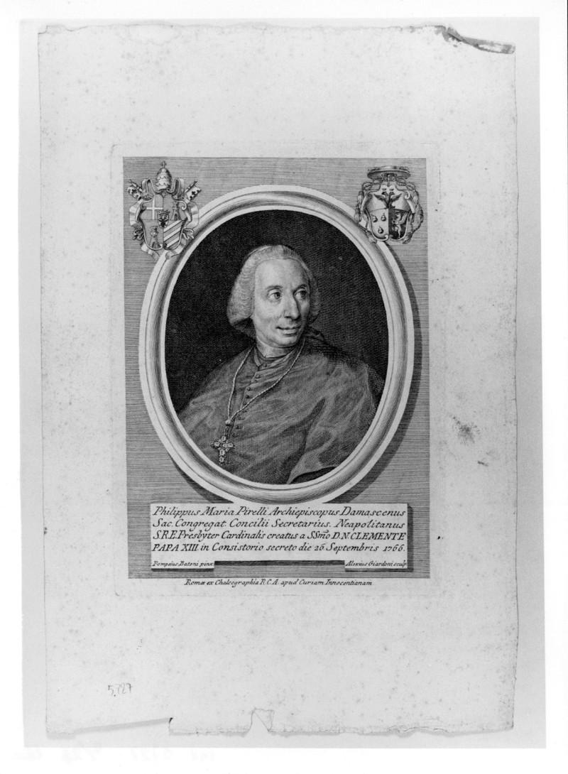 Giardoni A. (1766 circa), Ritratto di Filippo Maria Pirelli