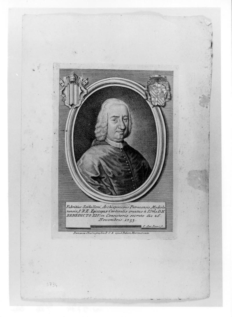 Pazzi P. A. (1753 circa), Ritratto di Fabrizio Serbelloni