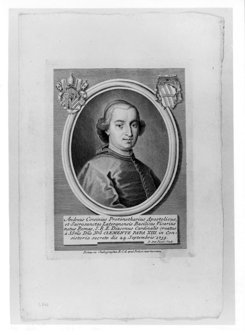 Pazzi P. A. (1759 circa), Ritratto di Andrea Corsini