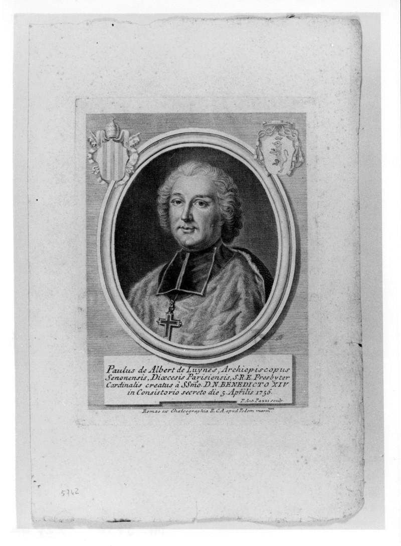 Pazzi P. A. (1756 circa), Ritratto di Paul d'Albert de Luynes