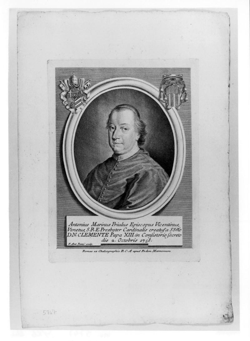 Pazzi P. A. (1758 circa), Ritratto di Antonio Marino Priuli