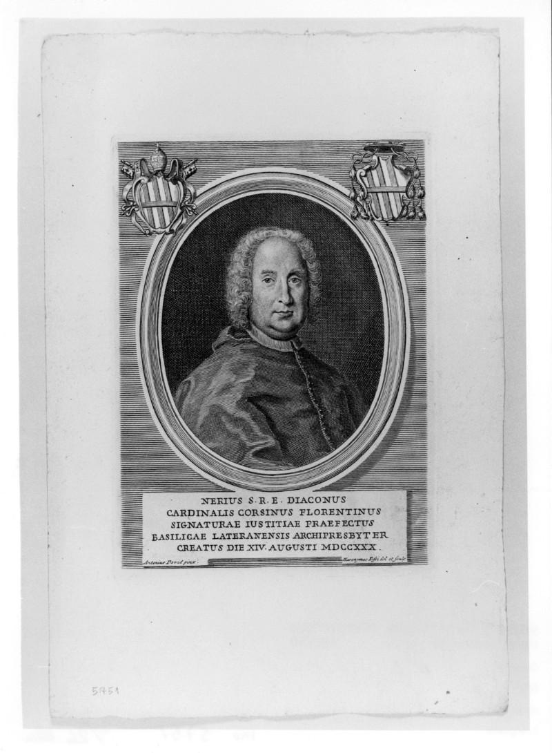 Rossi G. (1730 circa), Ritratto di Neri Maria Corsini