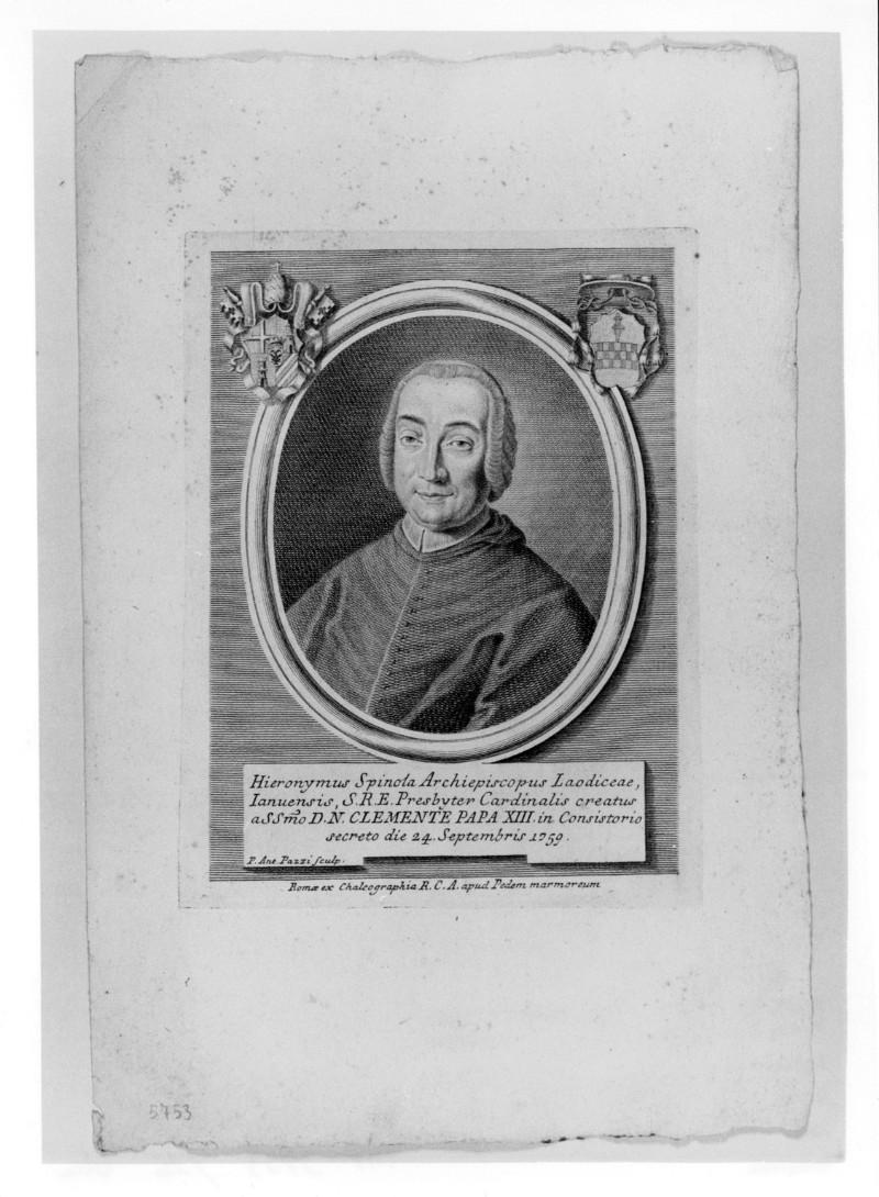 Pazzi P. A. (1759 circa), Ritratto di Girolamo Spinola