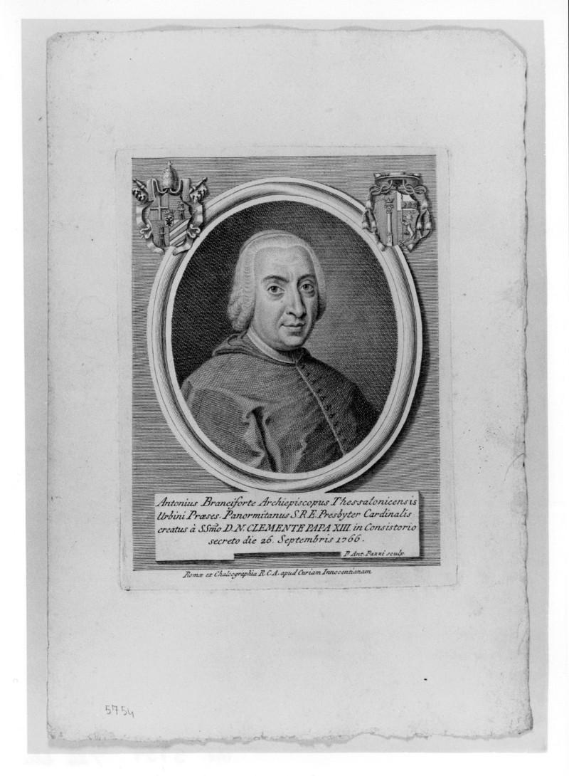 Pazzi P. A. (1766 circa), Ritratto di Antonio Branciforte Colonna