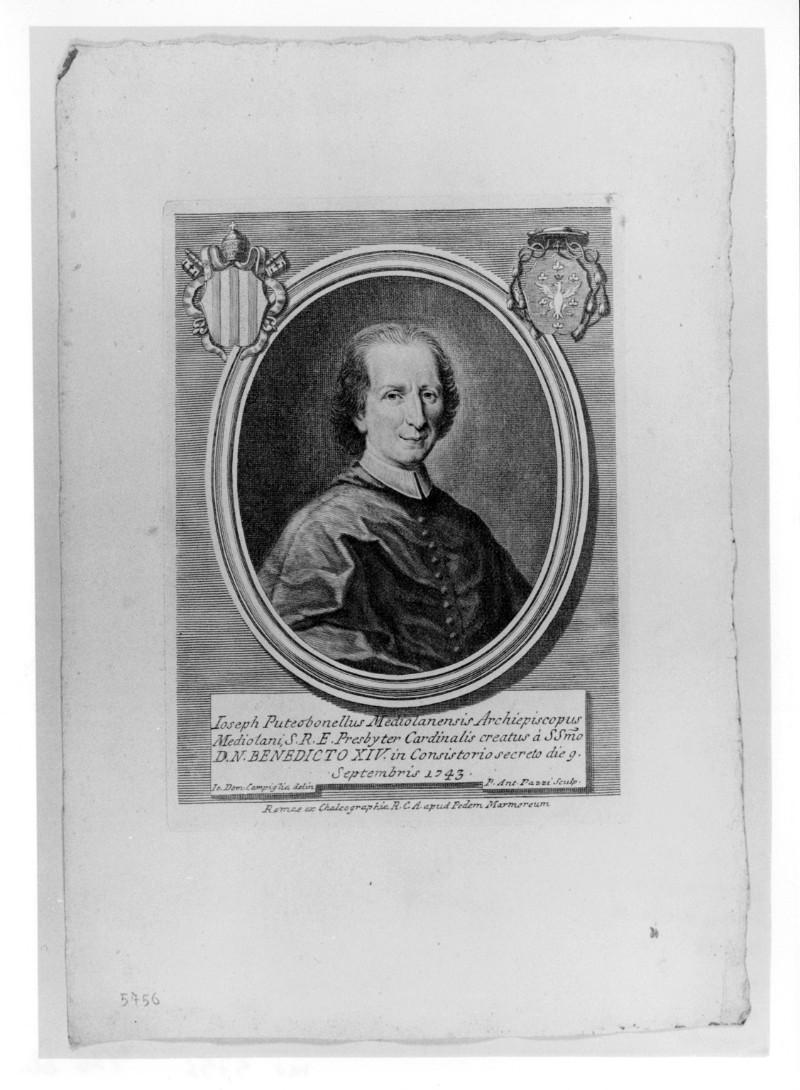 Pazzi P. A. (1743 circa), Ritratto di Giuseppe Pozzobonelli