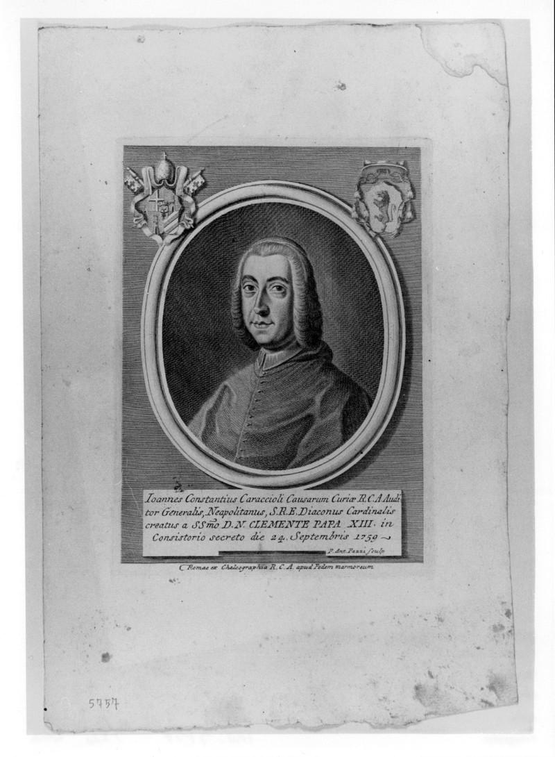 Pazzi P. A. (1759 circa), Ritratto di Giovanni Costanzo Caracciolo