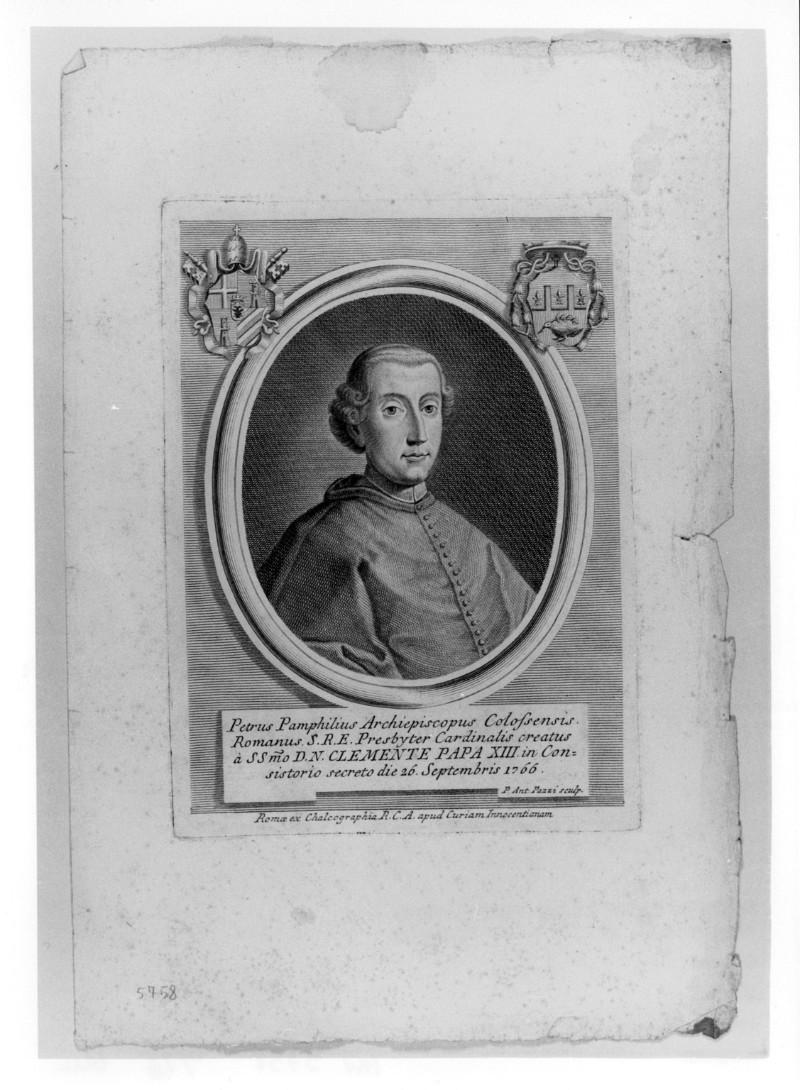 Pazzi P. A. (1766 circa), Ritratto di Pietro Colonna Pamphili