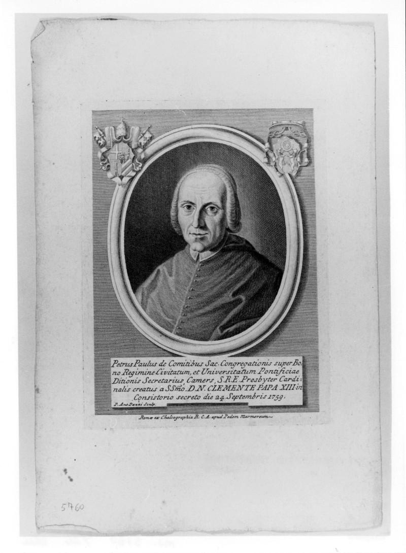 Pazzi P. A. (1759 circa), Ritratto di Pietro Paolo de Conti