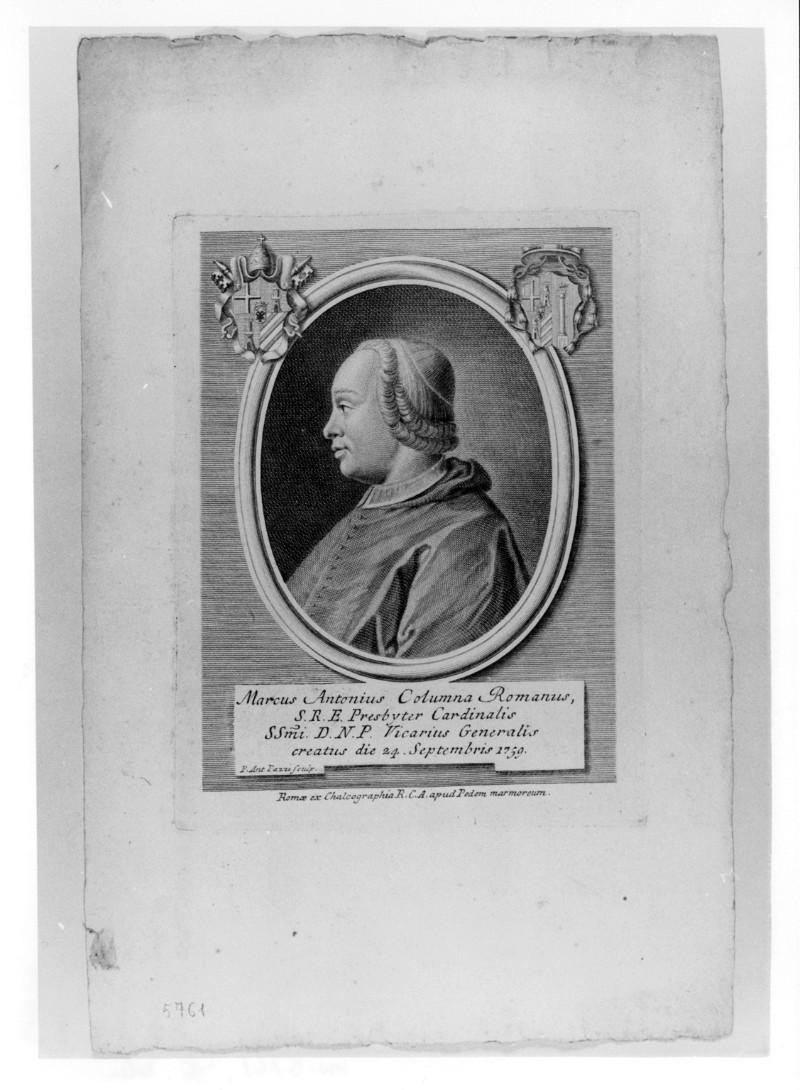 Pazzi P. A. (1759 circa), Ritratto di Marcantonio Colonna