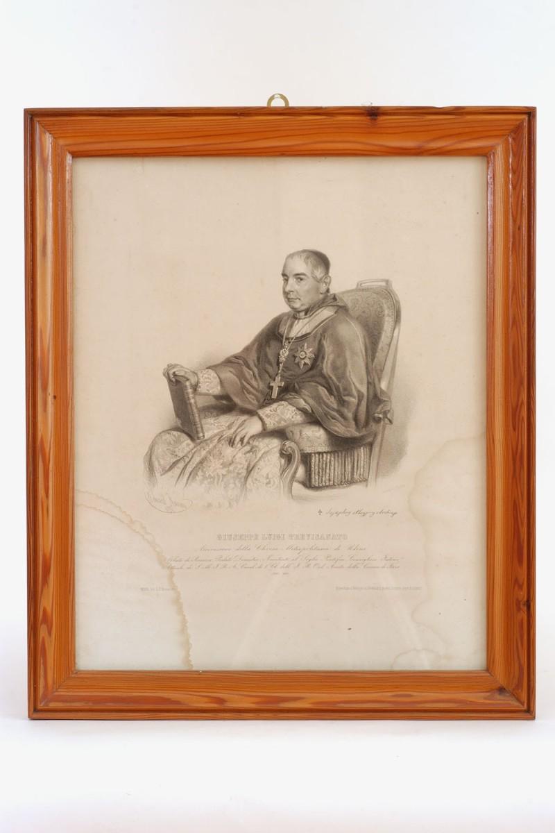 Ambito friulano (1856), Ritratto di Monsignor Giuseppe Luigi Trevisanato