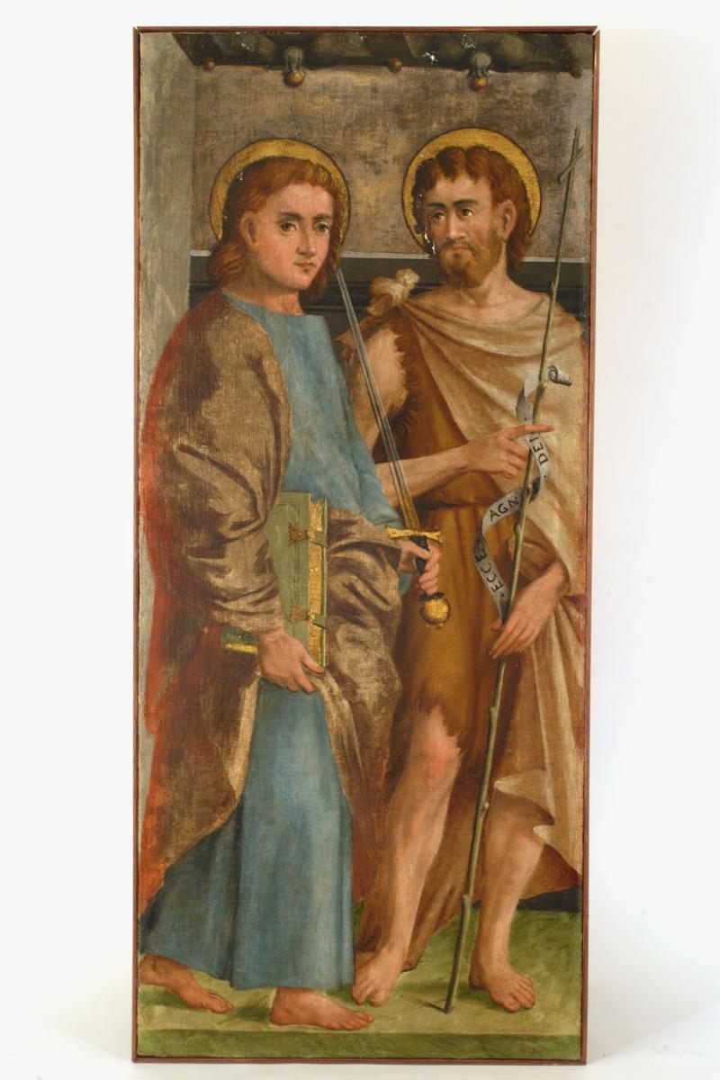 Agostini G.A. secc. XVI-XVII, Santi Giovanni evangelista e Battista