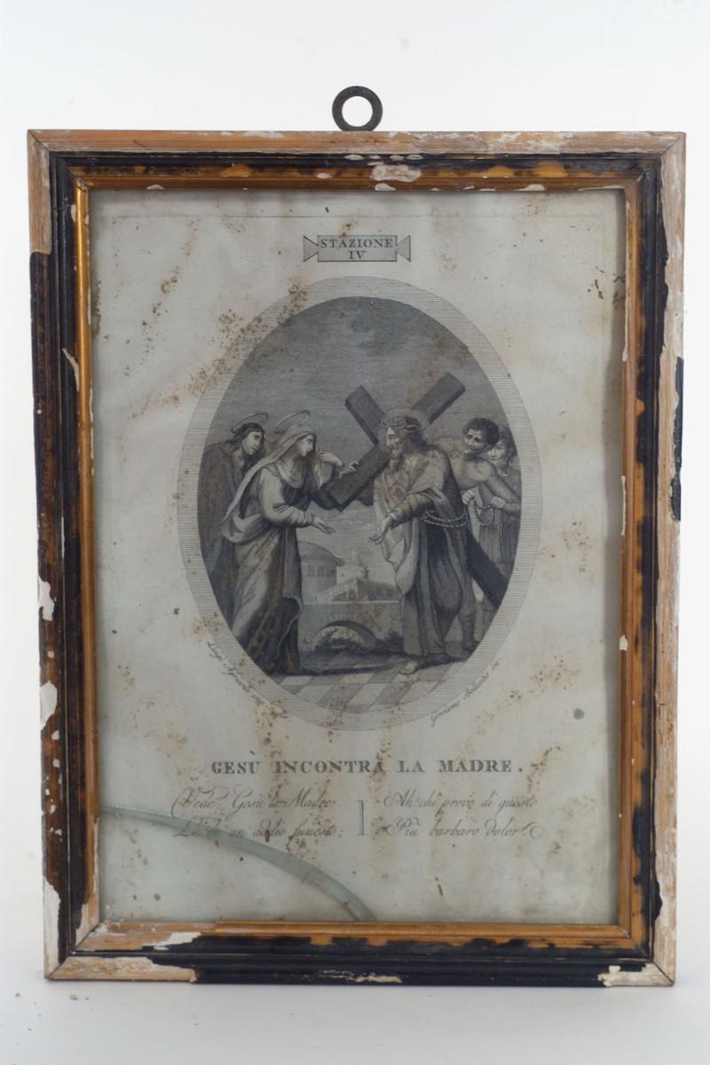 Agricola L. sec. XVIII, Gesù incontra la Madre