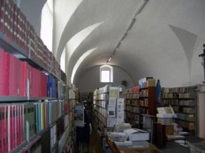 Biblioteca - Sala centrale di consultazione