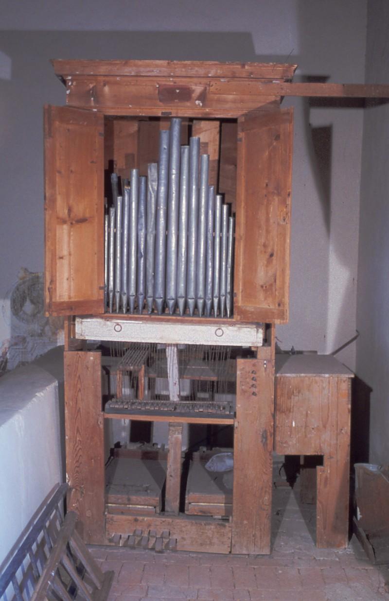 Ambito italiano sec. XIX, Organo