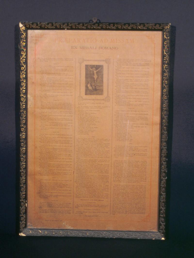 Ambito italiano sec. XIX, Messale romano