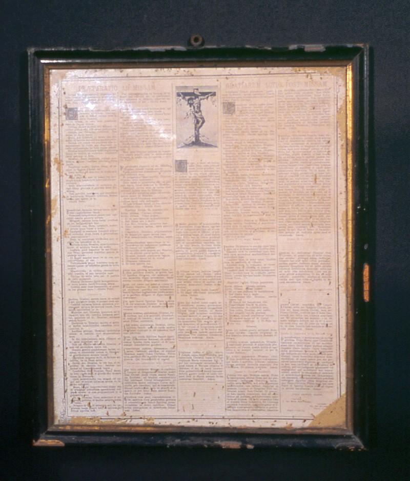 Ambito napoletano sec. XX, Messale romano