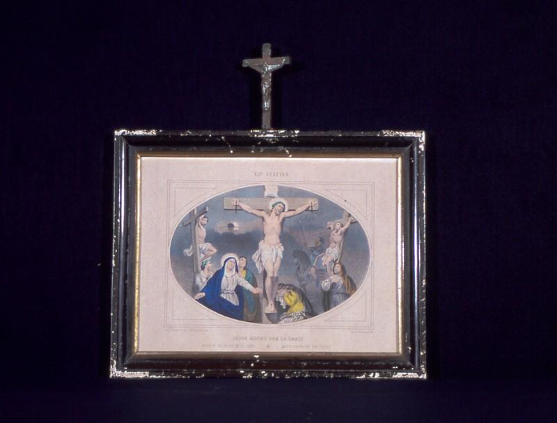 Ambito francese secc. XIX-XX, Gesù morto sulla croce