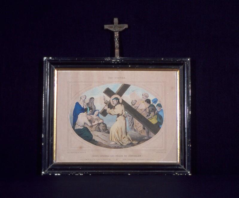 Ambito francese secc. XIX-XX, Gesù consola le figlie di Gerusalemme