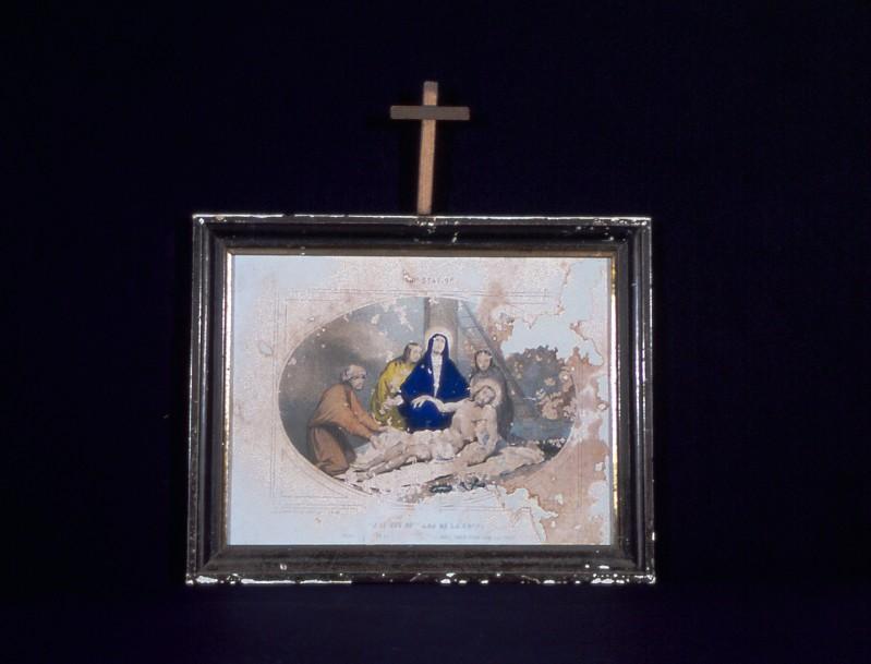 Ambito francese secc. XIX-XX, Gesù deposto dalla croce