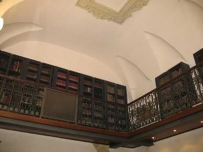 soppalco fondo antico, nella Direzione della biblioteca