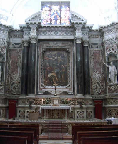 La cappella del Santissimo Sacramento del  XVII sec.