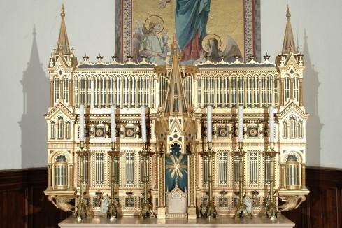Rupolo D. sec. XIX, Elemento di apparato per la liturgia delle Quarantore