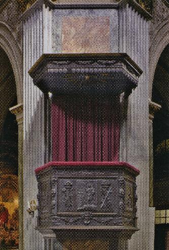 Il pulpito del 1668