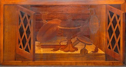 De Fornari A. - De Pantaleoni G.M. (1514-1529), Tarsia e oggetti per la liturgia