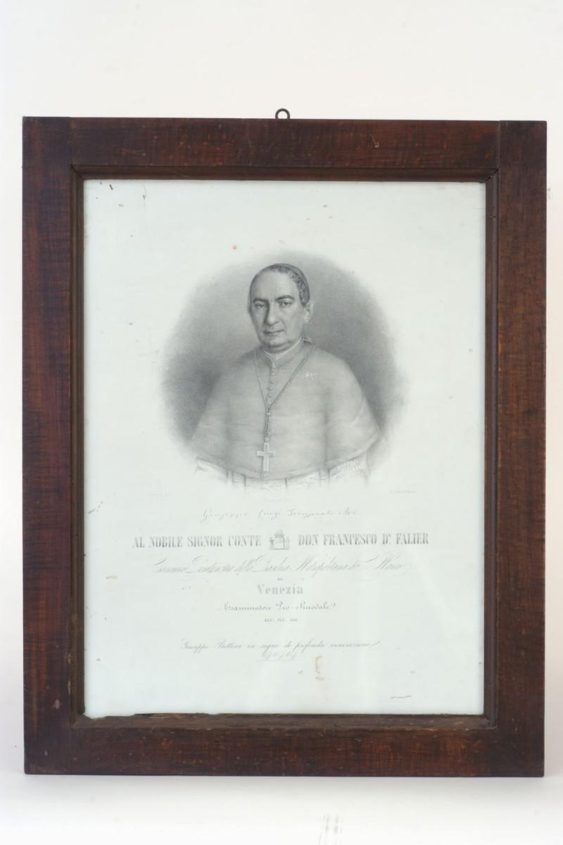 Bettini G. sec. XIX, Stampa raffigurante Monsignor Giuseppe Luigi Trevisanato