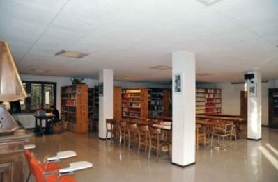 La sala di lettura e consultazione