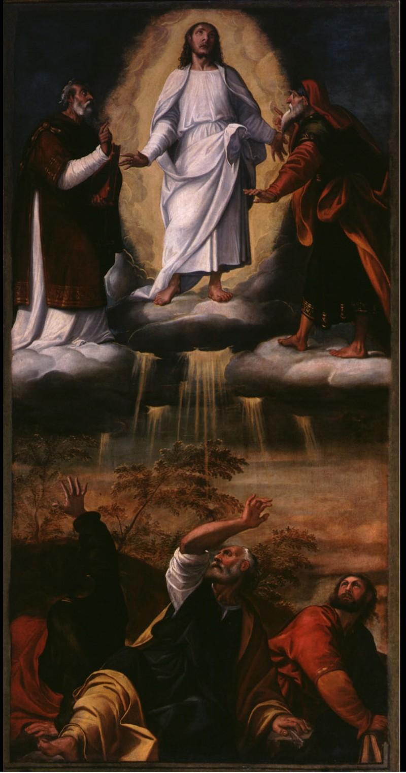 Vecellio F. sec. XVI, Trasfigurazione di Gesù Cristo sul Monte Tabor
