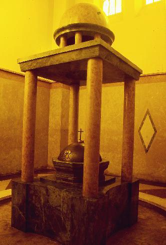 Il fonte battesimale