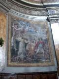 Ambito italiano (1816), Dipinto murale di Papa Simplicio