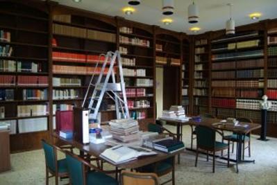 Sala di studio e consultazione