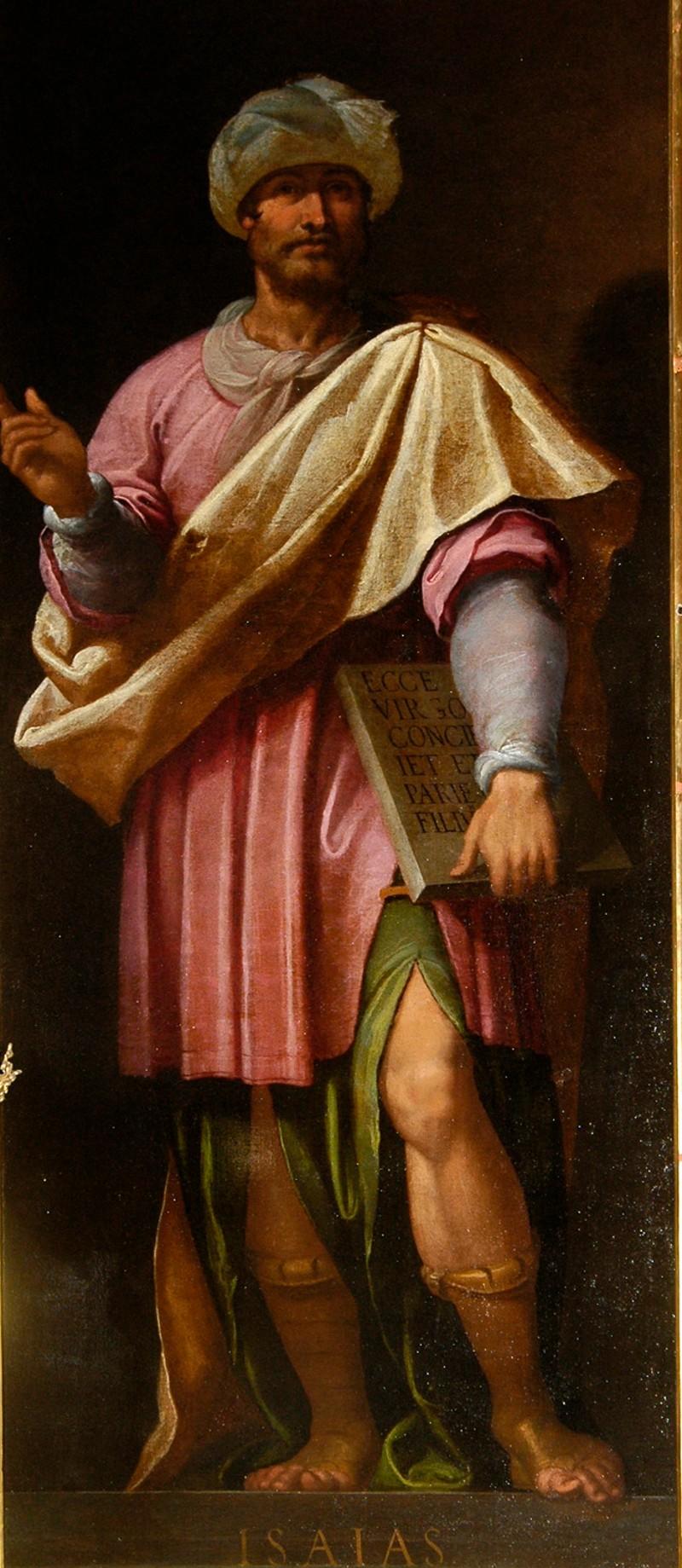 Castello B. sec. XVII, Il profeta Isaia
