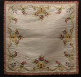 Manifattura ligure sec. XVIII, Velo di calice bianco con fiori