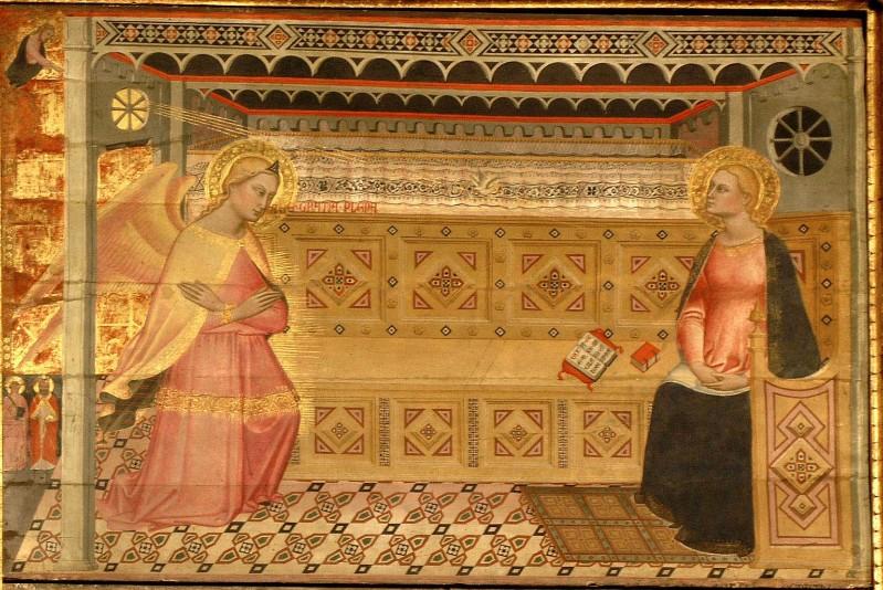 Iacopo di Cione (1360-1380 circa), Annunciazione