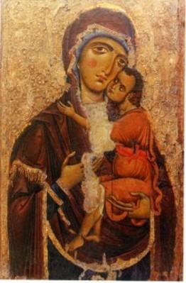 S. Maria Iconavetere Icona su legno (sec. XII)