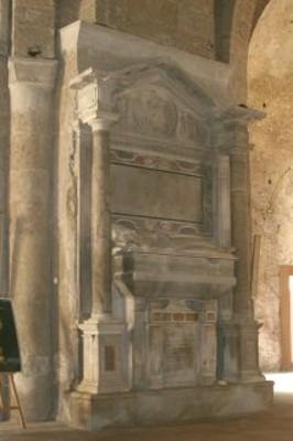 Sepolcro di Balduino de Balduini Marmo (sec. XVI)