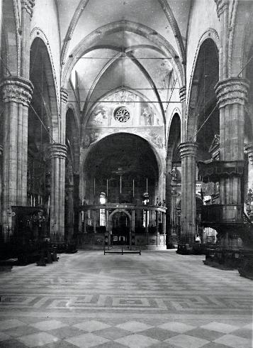 La cattedrale nel 1950