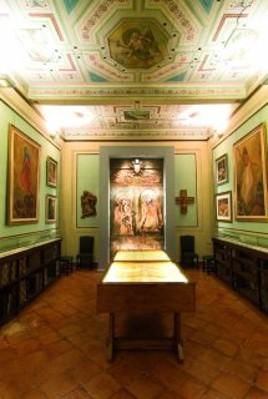 Appartamento verde - sala d'arte sacra contemporanea Luigi E. Mattei.