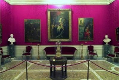 Appartamento cardinalizio - salotto.