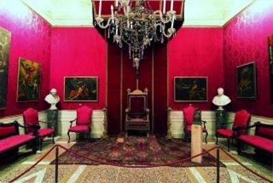 Appartamento cardinalizio - sala del trono.