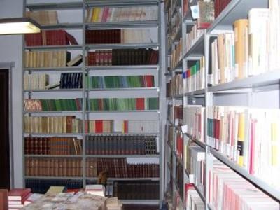 Scaffalatura biblioteca Fondo Moderno