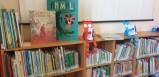 Una rosa per un libro, in biblioteca
